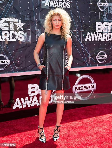 Singer Tori Kelly attends the 2015 BET Awards on June 28 2015 in Los Angeles California