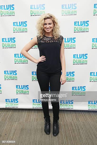 Singer Tori Kelly visits 'The Elvis Duran Z100 Morning Show' at Z100 Studio on December 14 2015 in New York City