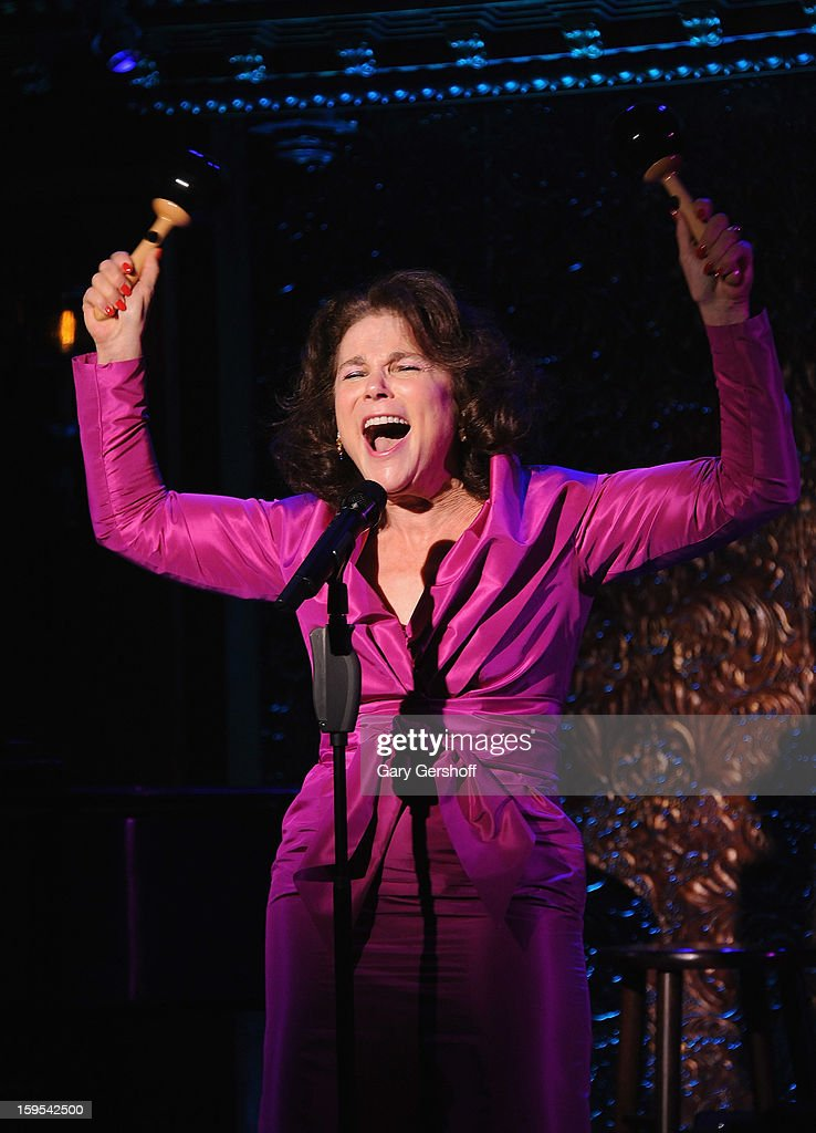 Singer Tovah Feldshuh attends a press preview at 54 Below on January 15, 2013 in New York City.