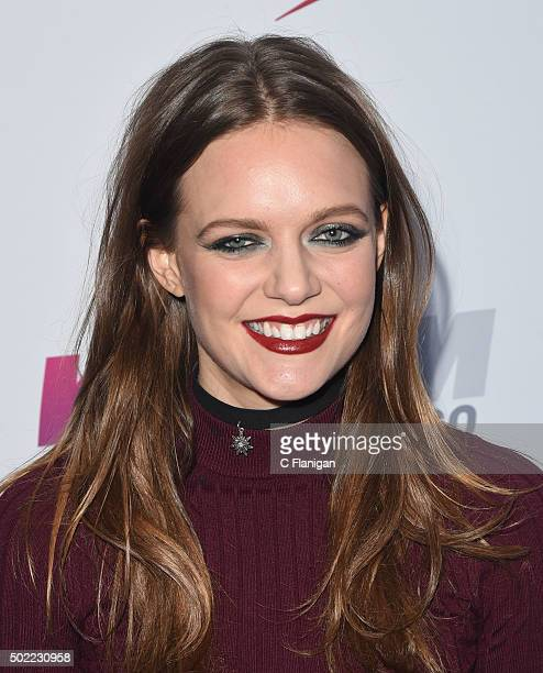 Singer Tove Lo attends 1035 KISS FM's Jingle Ball 2015 Presented by Capital One at Allstate Arena on December 16 2015 in Chicago Ill