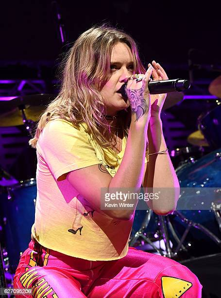Singer Tove Lo performs onstage at WiLD 949's FM's Jingle Ball 2016 presented by Capital One at SAP Center on December 1 2016 in San Jose California