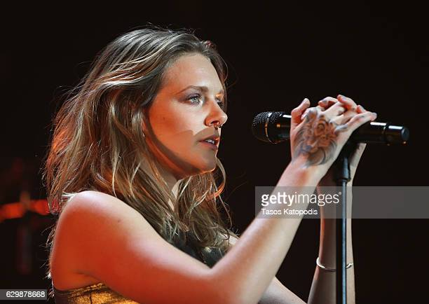 Singer Tove Lo performs onstage during 1035 KISS FM's Jingle Ball 2016 at Allstate Arena on December 14 2016 in Rosemont Illinois