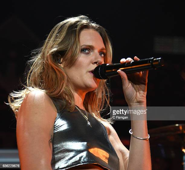 Singer Tove Lo performs onstage during 1035 KISS FM's Jingle Ball 2016 at Allstate Arena on December 14 2016 in Chicago Illinois