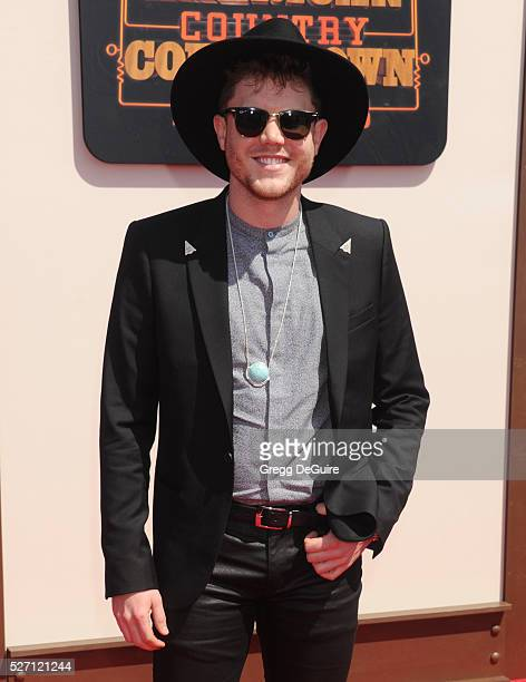 Singer Trent Harmon arrives at the 2016 American Country Countdown Awards at The Forum on May 1 2016 in Inglewood California