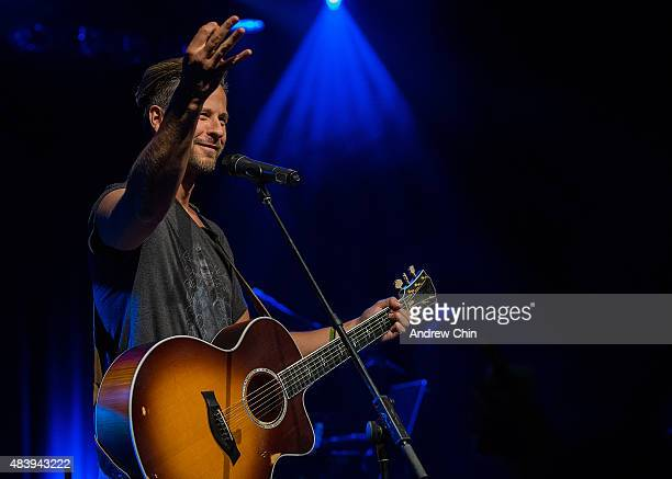 Singer Trevor Guthrie performs onstage during Virgin Radio Beach Ball at Commodore Ballroom on August 13 2015 in Vancouver Canada