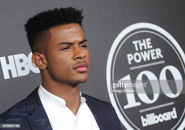 Singer Trevor Jackson arrives at the 2016 Billboard Power 100 Celebration at Bouchon on February 12 2016 in Beverly Hills California