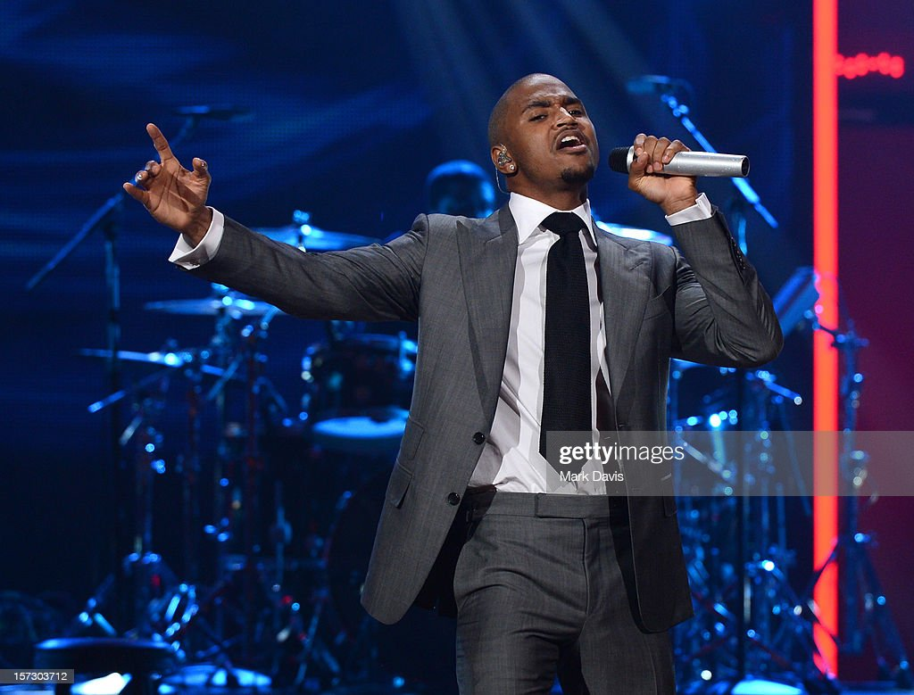 Singer Trey Songz performs onstage during UNCF's 33rd Annual An Evening Of Stars held at Pasadena Civic Auditorium on December 1, 2012 in Pasadena, California.