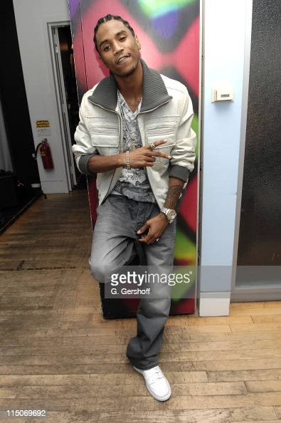 RB singer Trey Songz visits MTV's 'Sucker Free' at MTV Studios Times Square on October 17 2007 in New York City