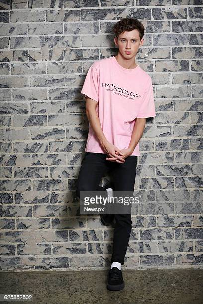 SYDNEY NSW Singer Troye Sivan poses during a photo shoot in Sydney New South Wales