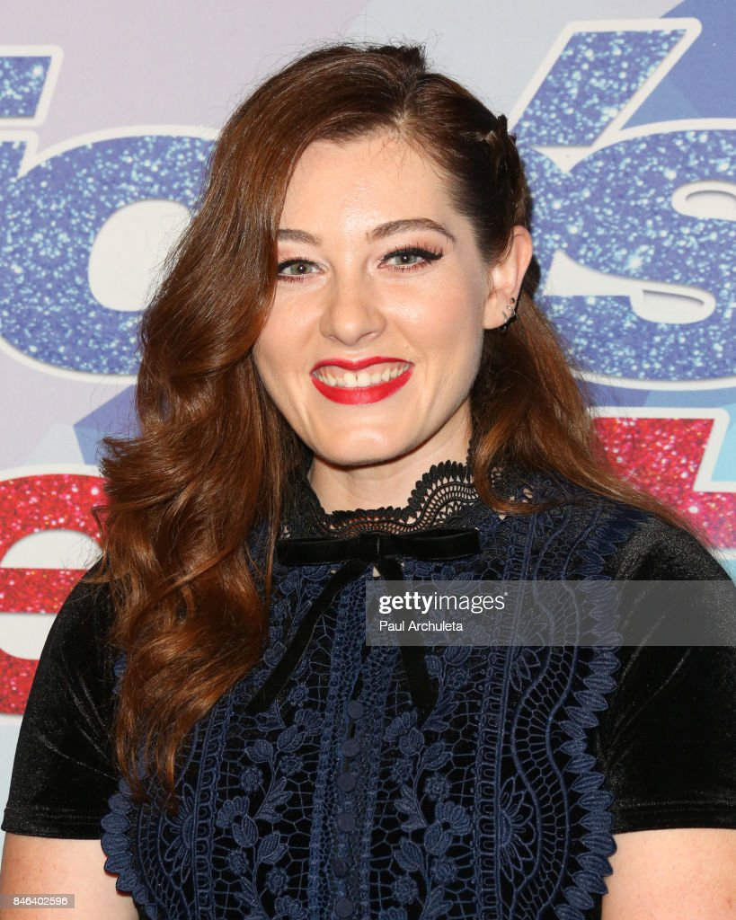 Singer / TV Personality Mandy Harvey attends NBC's 'America's Got Talent' season 12 live show at Dolby Theatre on September 12, 2017 in Hollywood, California.