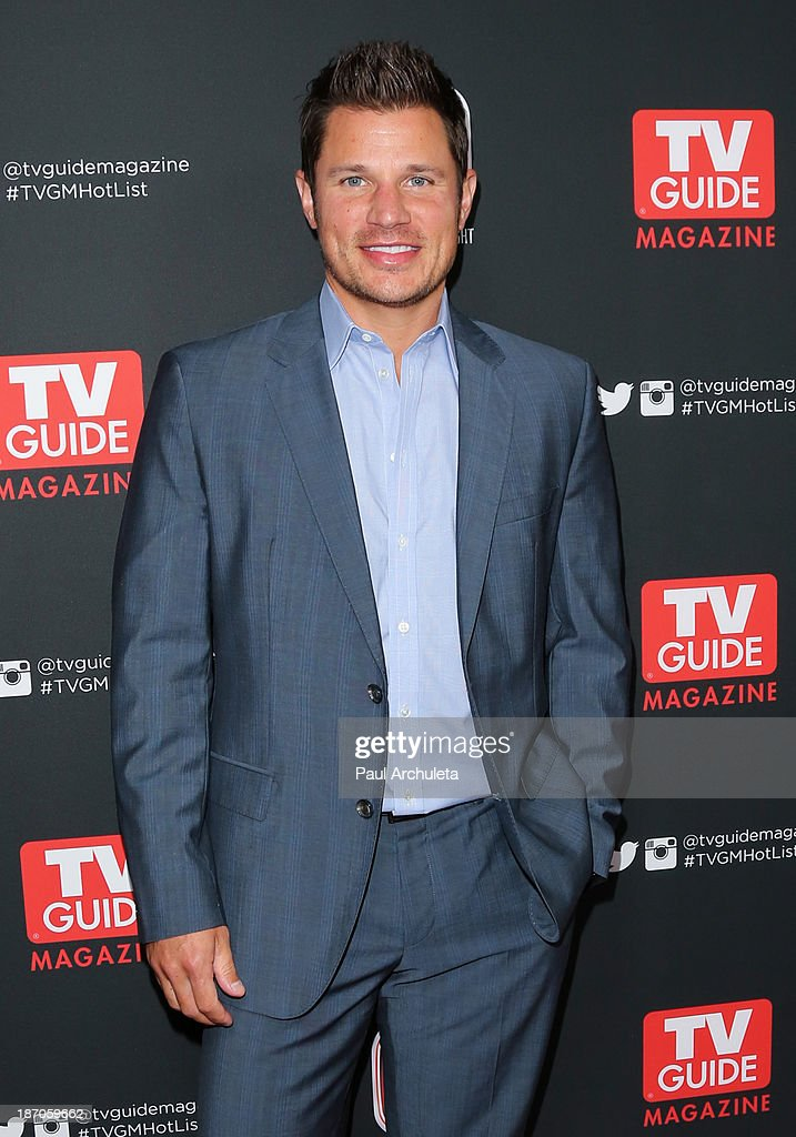 Singer / TV Personality <a gi-track='captionPersonalityLinkClicked' href=/galleries/search?phrase=Nick+Lachey&family=editorial&specificpeople=201832 ng-click='$event.stopPropagation()'>Nick Lachey</a> attends TV Guide magazine's annual Hot List Party at The Emerson Theatre on November 4, 2013 in Hollywood, California.
