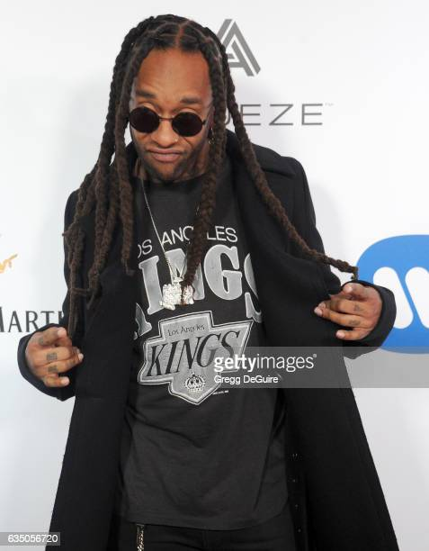 Singer Ty Dolla Sign arrives at Warner Music Group's Annual GRAMMY Celebration at Milk Studios on February 12 2017 in Hollywood California