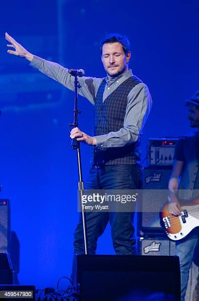 Singer Ty Herndon performs during Charlie Daniels Friends Christmas 4 Kids 2014 at the Ryman Auditorium on November 24 2014 in Nashville Tennessee