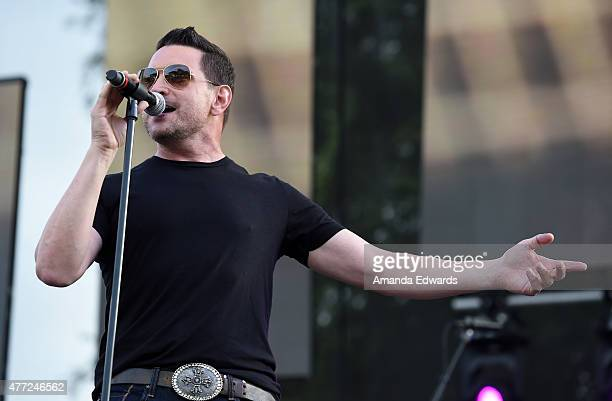 Singer Ty Herndon performs onstage at LA Pride 2015 by Christopher Street West on June 14 2015 in West Hollywood California