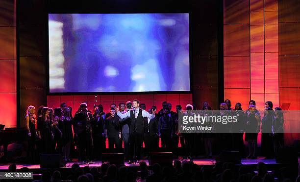 Singer Ty Herndon performs onstage during 'TrevorLIVE LA' Honoring Robert Greenblatt Yahoo and Skylar Kergil for The Trevor Project presented by...