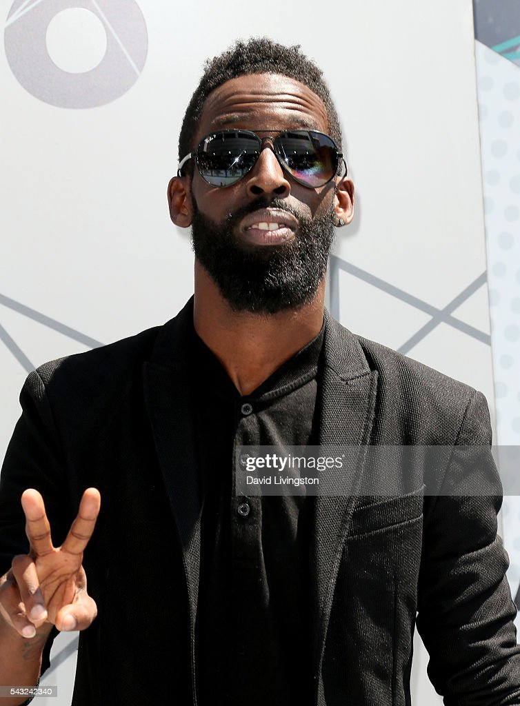 Singer <a gi-track='captionPersonalityLinkClicked' href=/galleries/search?phrase=Tye+Tribbett&family=editorial&specificpeople=2330862 ng-click='$event.stopPropagation()'>Tye Tribbett</a> attends the 2016 BET Awards at Microsoft Theater on June 26, 2016 in Los Angeles, California.