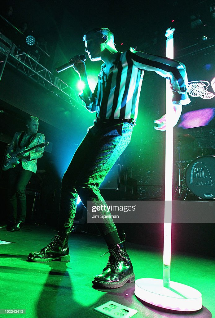 Singer <a gi-track='captionPersonalityLinkClicked' href=/galleries/search?phrase=Tyler+Glenn&family=editorial&specificpeople=5680345 ng-click='$event.stopPropagation()'>Tyler Glenn</a> attends The New Billboard Launch Event at Stage 48 on February 21, 2013 in New York City.