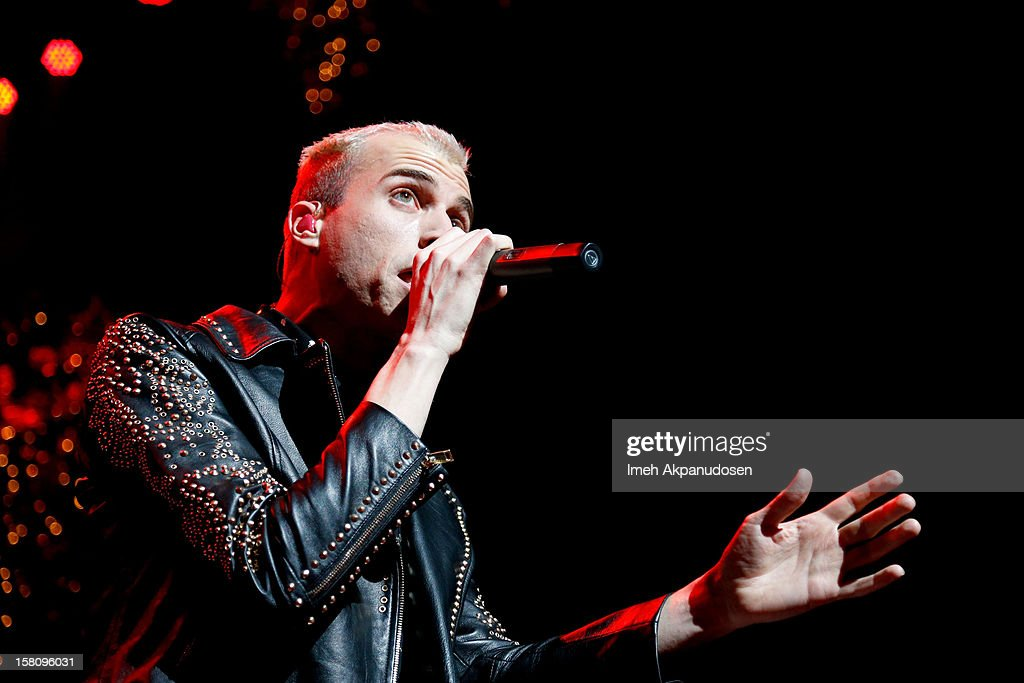 Singer Tyler Glenn of Neon Tyler performs onstage at the 23rd Annual KROQ Almost Acoustic Christmas at Gibson Amphitheatre on December 9, 2012 in Universal City, California.