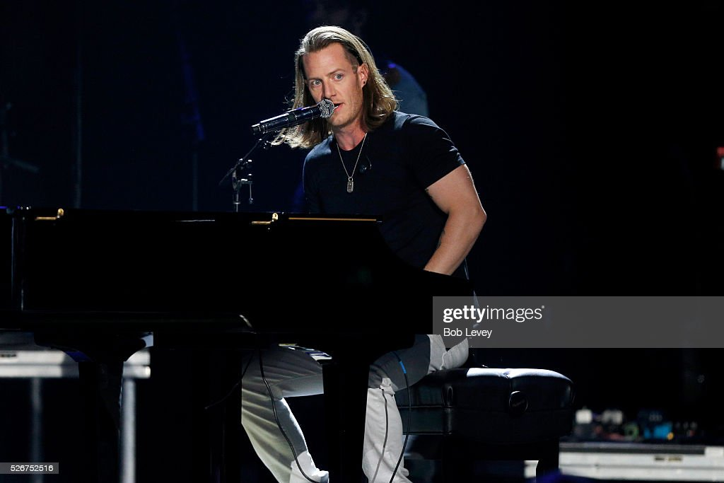 Singer Tyler Hubbard of Florida Georgia Line performs onstage during the 2016 iHeartCountry Festival at The Frank Erwin Center on April 30, 2016 in Austin, Texas.
