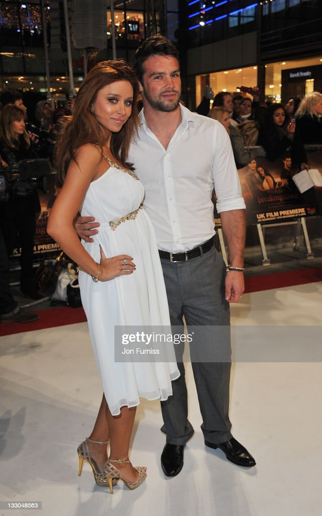 Singer Una Healey and Ben Foden attend 'The Twilight Saga: Breaking Dawn Part 1' UK Premiere, at Westfield Stratford City on November 16, 2011 in London, England.