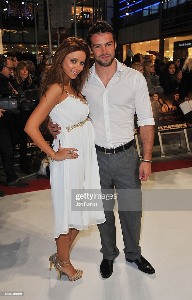 Singer Una Healey and <a gi-track='captionPersonalityLinkClicked' href=/galleries/search?phrase=Ben+Foden&family=editorial&specificpeople=542798 ng-click='$event.stopPropagation()'>Ben Foden</a> attend 'The Twilight Saga: Breaking Dawn Part 1' UK Premiere, at Westfield Stratford City on November 16, 2011 in London, England.