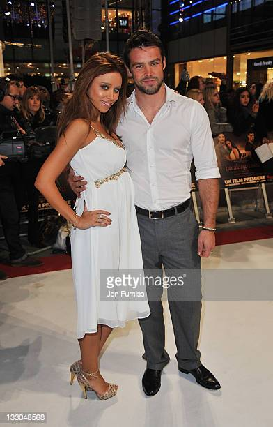 Singer Una Healey and Ben Foden attend 'The Twilight Saga Breaking Dawn Part 1' UK Premiere at Westfield Stratford City on November 16 2011 in London...