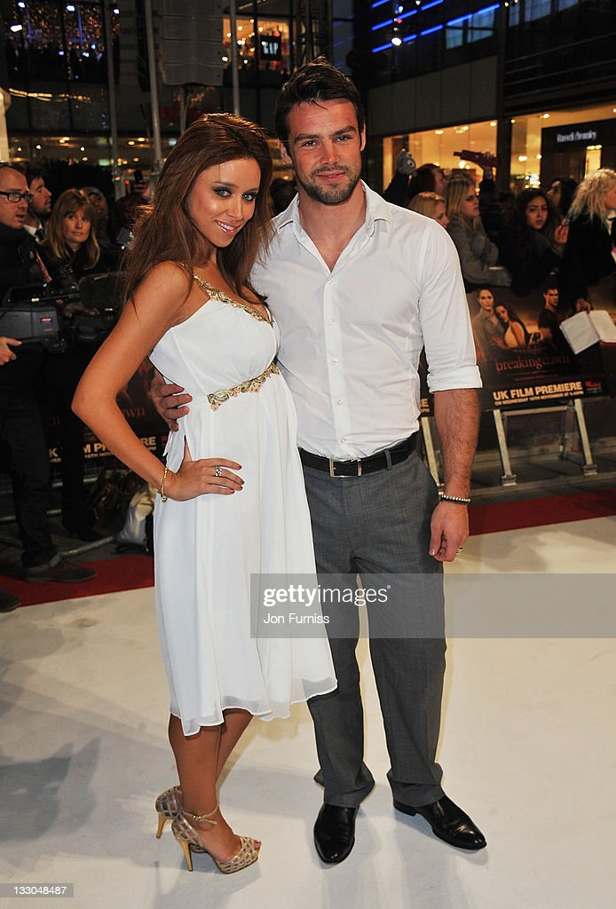 Singer Una Healey and Ben Foden attends 'The Twilight Saga: Breaking Dawn Part 1' UK Premiere, at Westfield Stratford City on November 16, 2011 in London, England.