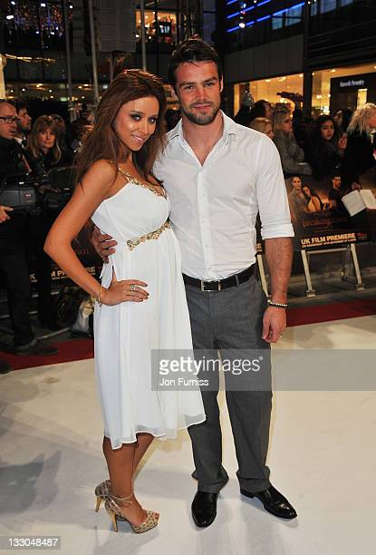 Singer Una Healey and Ben Foden attends 'The Twilight Saga Breaking Dawn Part 1' UK Premiere at Westfield Stratford City on November 16 2011 in...