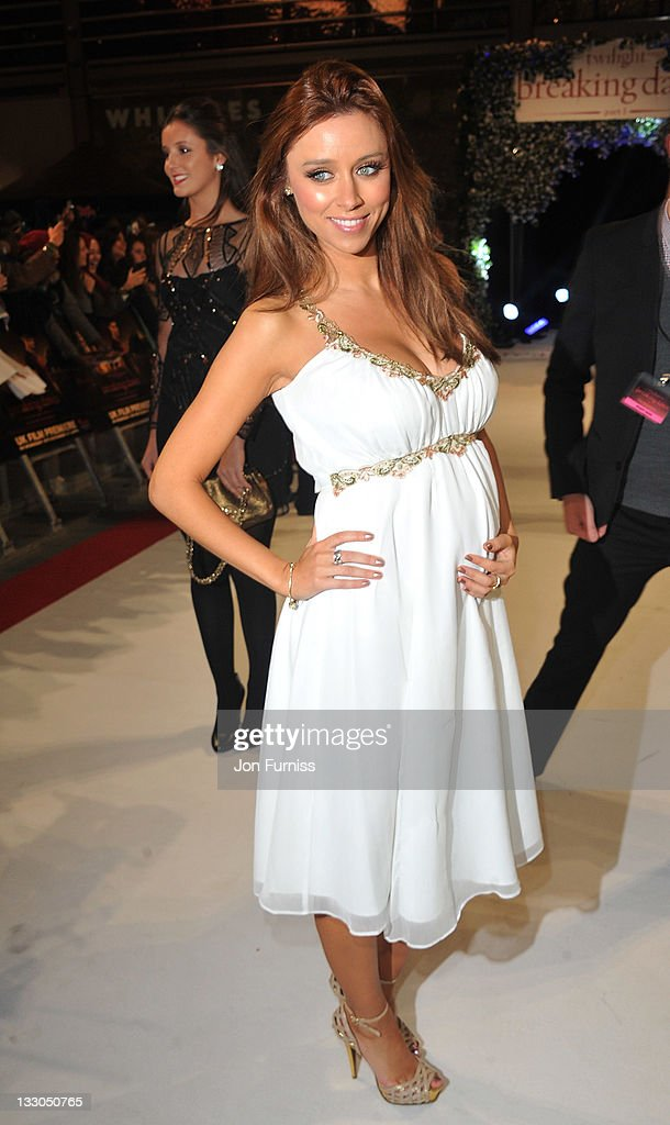 Singer Una Healey attends 'The Twilight Saga: Breaking Dawn Part 1' UK Premiere, at Westfield Stratford City on November 16, 2011 in London, England.