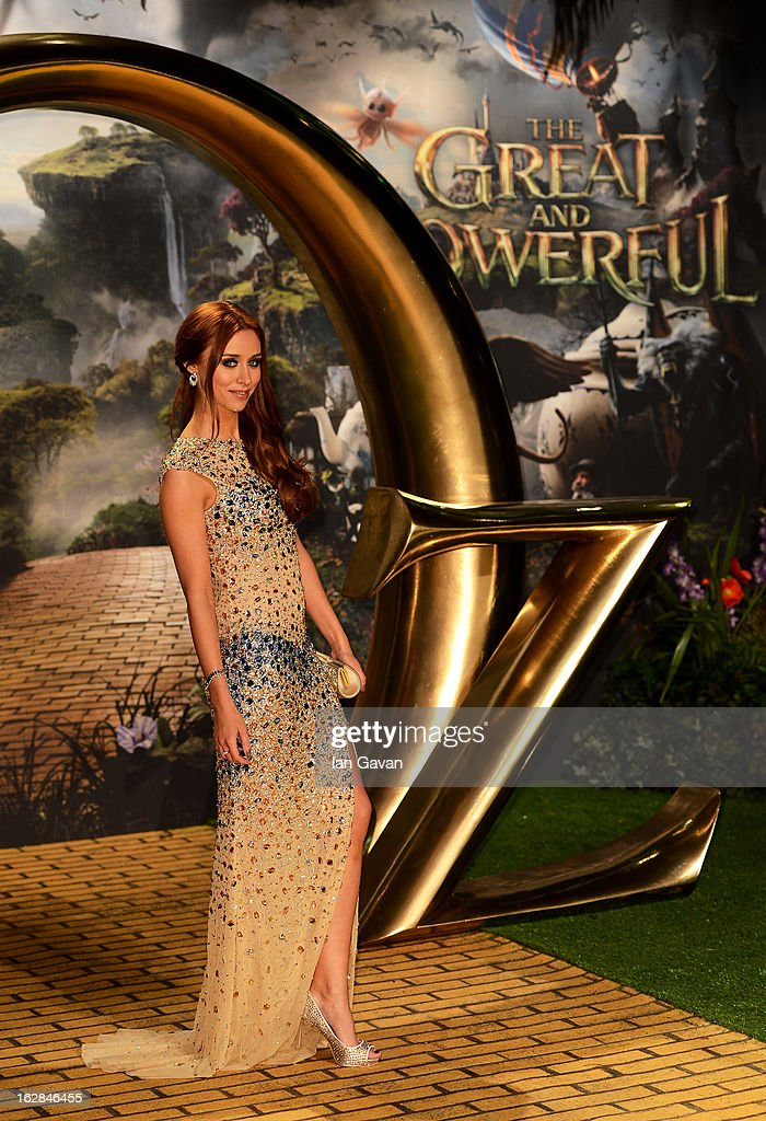 Singer Una Healy of The Saturdays attends the UK film premiere of Oz: The Great and Powerful at the Empire Leicester Square on February 28, 2013 in London, England.