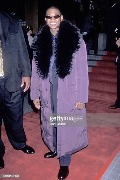 Singer Usher attends his 21st Birthday Party on November 1 1999 at Yamashiro Restaurant in Hollywood California