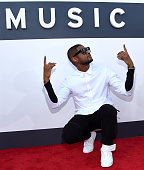 Singer Usher attends the 2014 MTV Video Music Awards at The Forum on August 24 2014 in Inglewood California