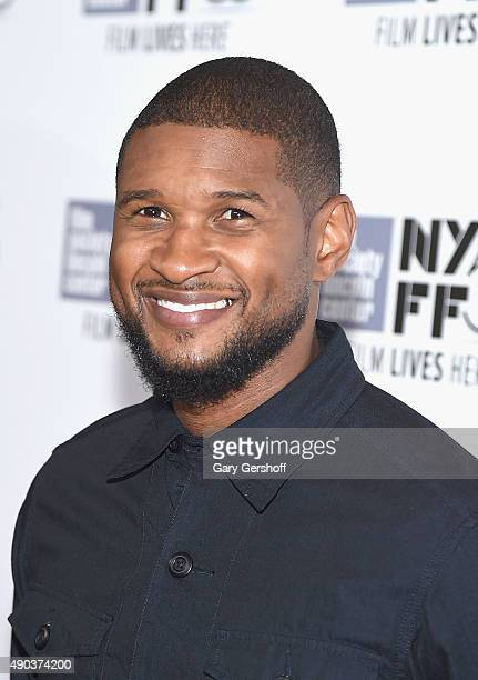 Singer Usher attends 'The Martian' premiere during the 53rd New York Film Festival at Alice Tully Hall on September 27 2015 in New York City