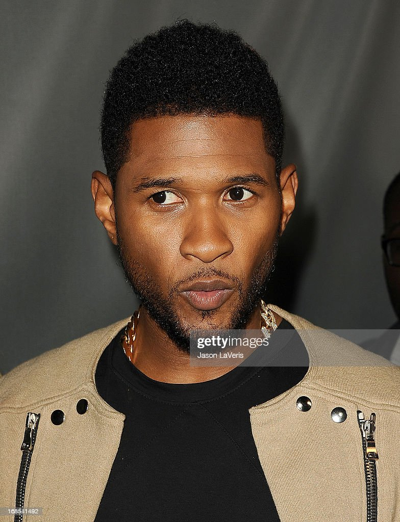 Singer Usher attends 'The Voice' season 4 premiere at House of Blues Sunset Strip on May 8, 2013 in West Hollywood, California.