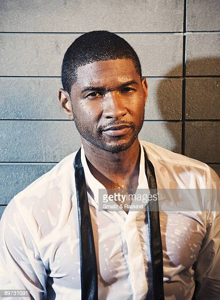 Singer Usher poses for a portrait session