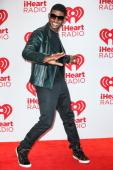 Singer Usher Raymond arrives at iHeartRadio Music Festival press room at MGM Grand Garden Arena on September 21 2012 in Las Vegas Nevada