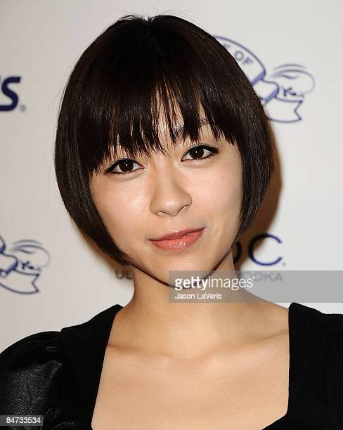 Singer Utada attends the House of Hype Island Def Jam Grammy after party at Wolfgang's Steakhouse on February 8 2009 in Beverly Hills California