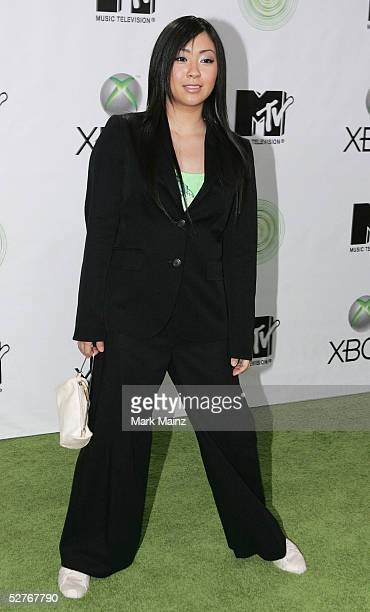 Singer Utada attends the Xbox's next generation console launch party on May 5 2005 at Avalon in Los Angeles California