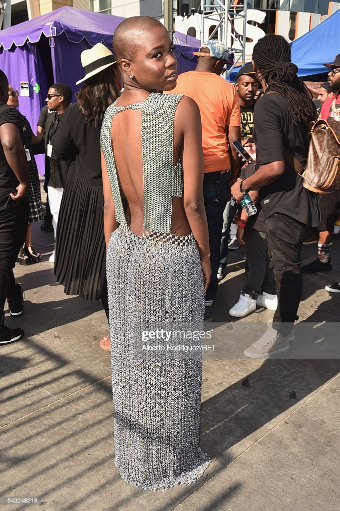 Singer V. Bozeman attends the 2016 BET Awards at the Microsoft Theater on June 26, 2016 in Los Angeles, California.