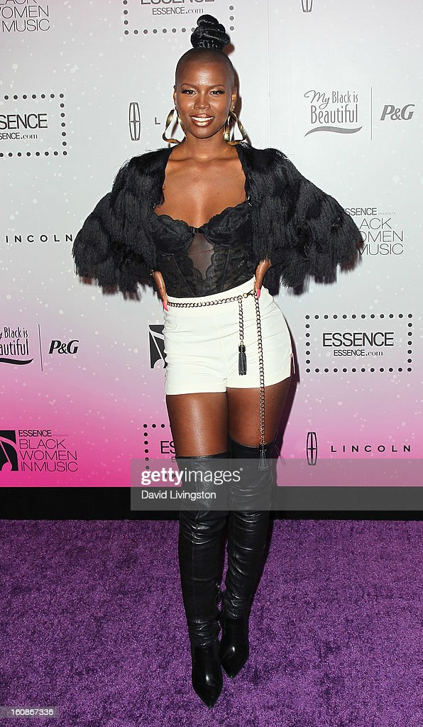Singer V. Bozeman attends the 4th Annual ESSENCE Black Women In Music honoring Lianne La Havas and Solange Knowles at Greystone Manor Supperclub on February 6, 2013 in West Hollywood, California.