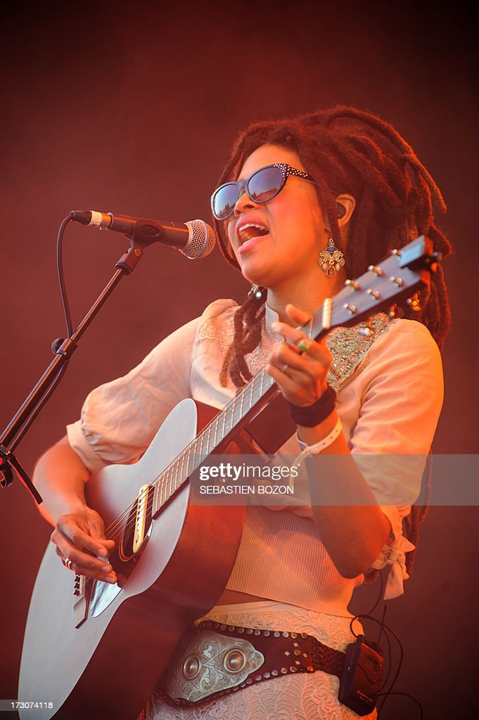 US singer Valerie June performs at the Eurockeennes festival on July 6, 2013 in the eastern French city of Belfort.