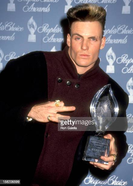 Singer Vanilla Ice attends the 17th Annual People's Choice Awards on March 11 1991 at Paramount Studios in Hollywood California