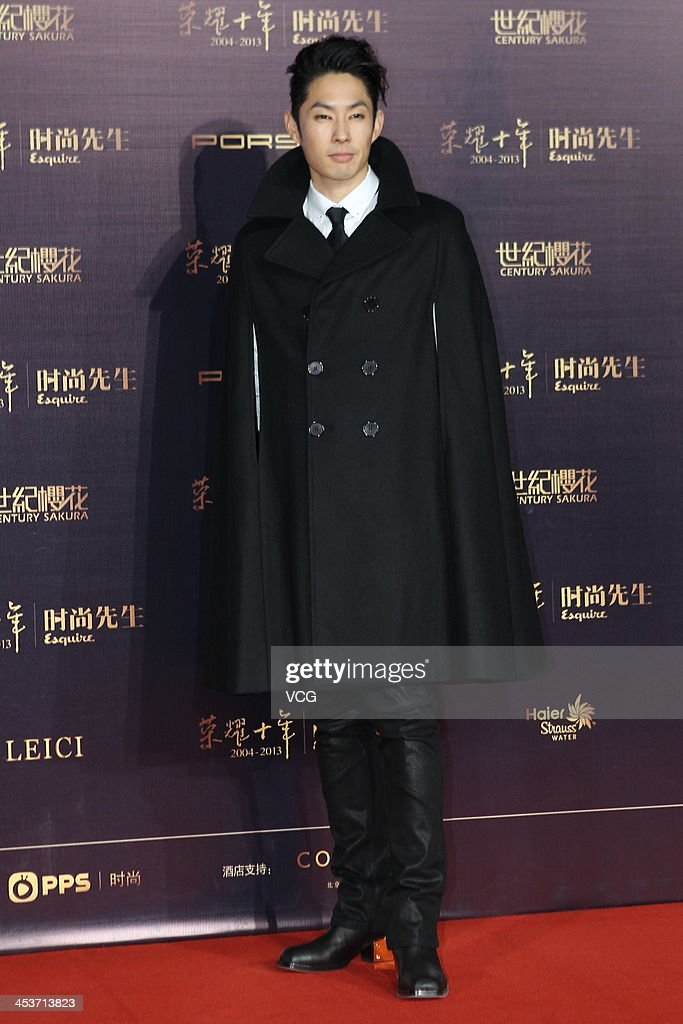Singer Vanness Wu attends Esquire Men Of The Year Awards 2013 at Oriental Theatre on December 4, 2013 in Beijing, China.