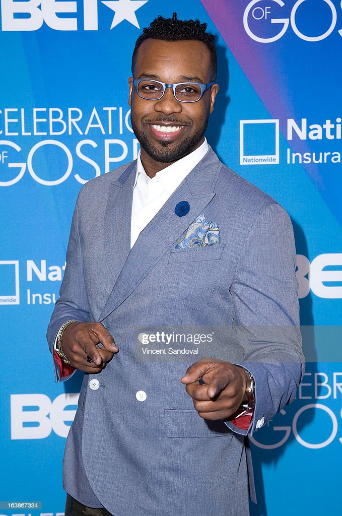 Singer VaShawn Mitchell attends the BET 13th annual 'Celebration Of Gospel' at Orpheum Theatre on March 16, 2013 in Los Angeles, California.