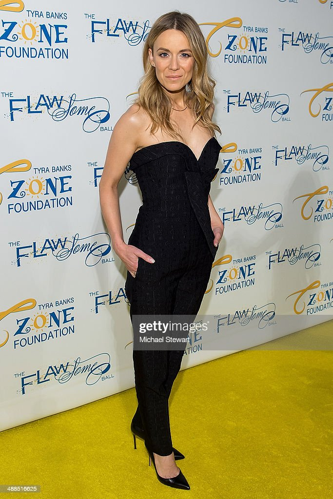 Singer Veronic DiCaire attends Tyra Banks' Flawsome Ball 2014 at Cipriani Wall Street on May 6, 2014 in New York City.