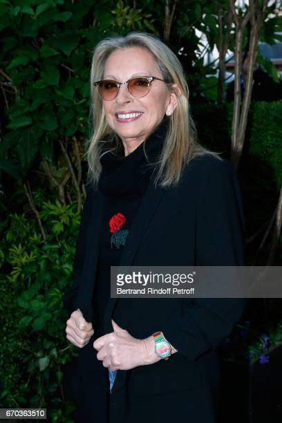 Singer Veronique Sanson attends 'La Closerie des Lilas' Literary Awards 2017 at La Closerie des Lilas on April 19 2017 in Paris France