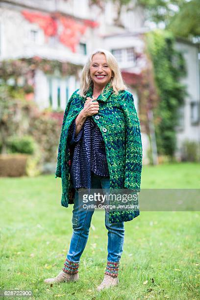 Singer Veronique Sanson is photographed for Gala on October 19 2016 in Paris France