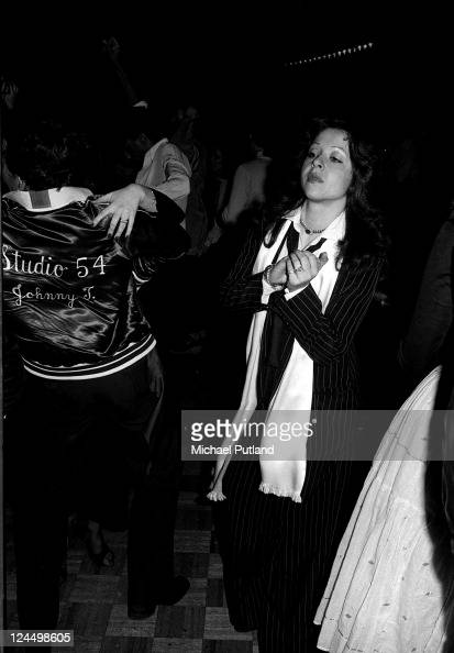 Singer Vicky Leandros at Studio 54 nightclub New York 14th March 1978