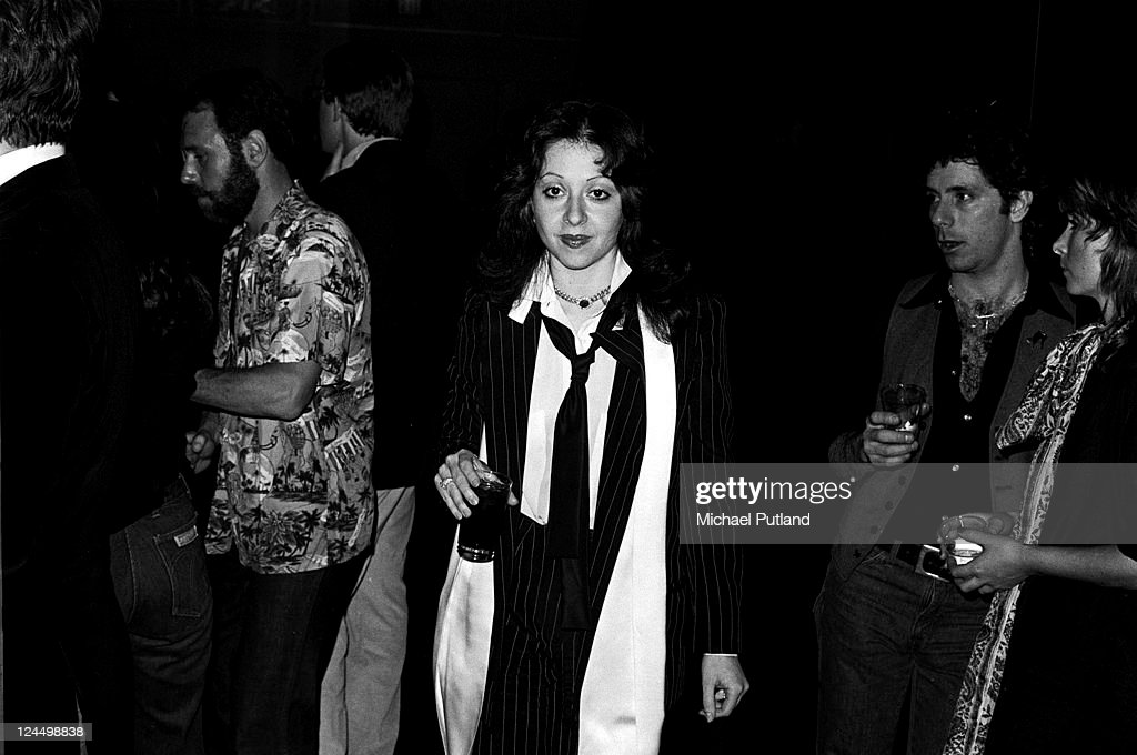 Singer Vicky Leandros at Studio 54 nightclub New York 14th March 1978