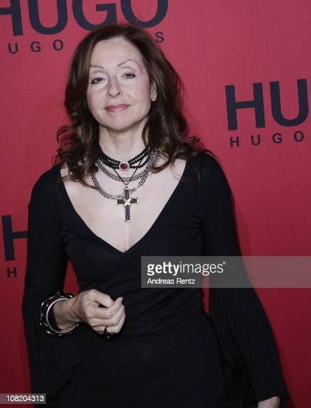 Singer Vicky Leandros attends the Hugo Boss Show during the Mercedes Benz Fashion Week Autumn/Winter 2011 at Neue Nationalgalerie on January 20 2011...